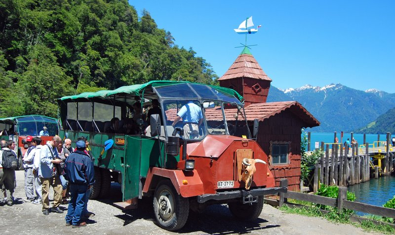 Peulla transport