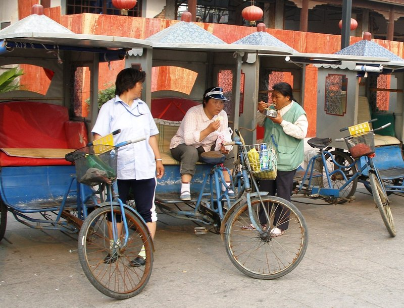 Rickshaw Trike Ladies