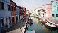The colourful houses of Murano - Venice