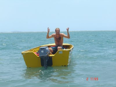 Craig can't get the boat to anchor!