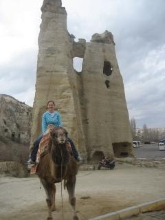 Riding Camel in Cappadocia!