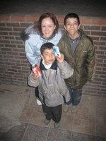Street Kids Selling Kleenex
