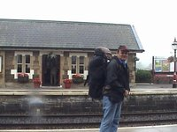 At Settle Railway Station, Yorkshire