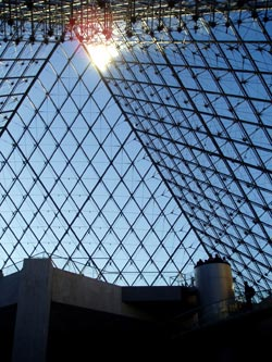 Inside the Louvre, Paris