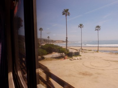 On the train to San Diego