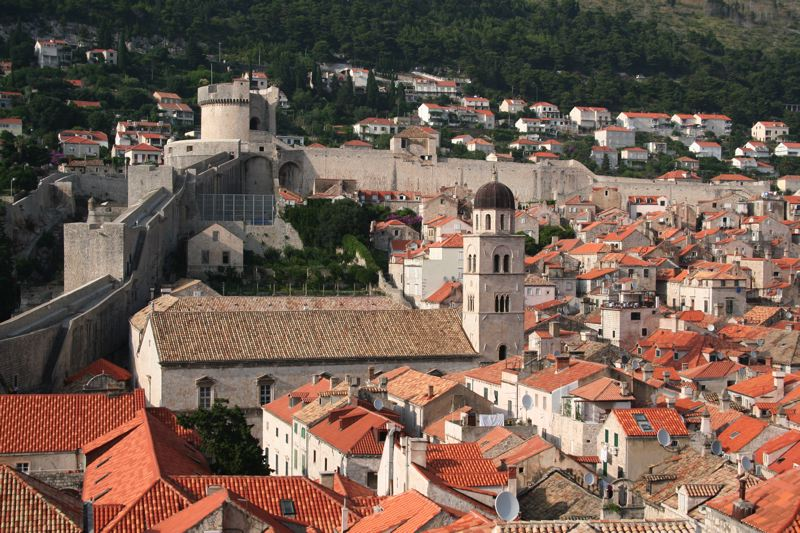 Dubrovnik roof tops
