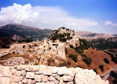 Nimrod's Castle (Circa 1190) near Mt. Hermon