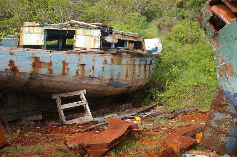 Boat in Decay