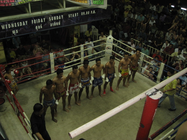 8 man line up