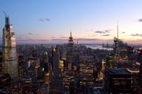 Twilight, New York City