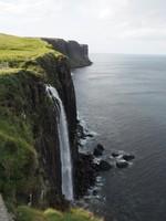 Scotland - Isle of Skye - Kilt Rock Waterfall