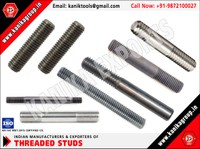 Threaded Studs manufacturers exporters in India http://www.kanikagroup.in +91-9872100027