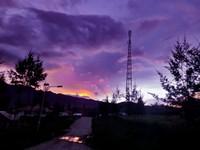 Sunset sore kota ilaga