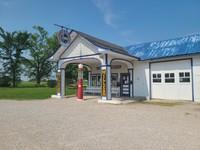 Standard Oil Station, Historic Replica