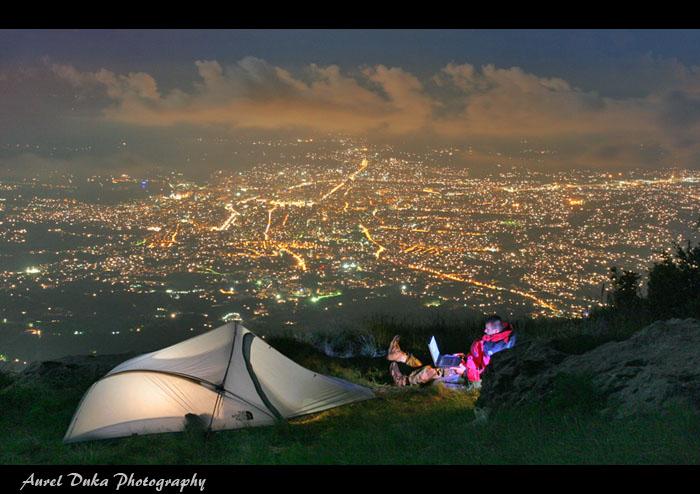 Tirana at Night