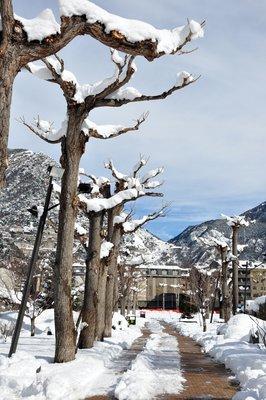 Parc Central - Andorra la Vella