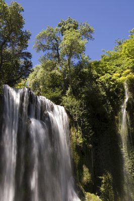 Gardens of Monasterio de Piedra - Aragon - Spain