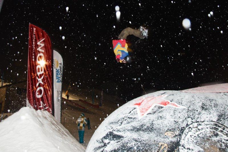 2011.02.19 Sunset Snow Park