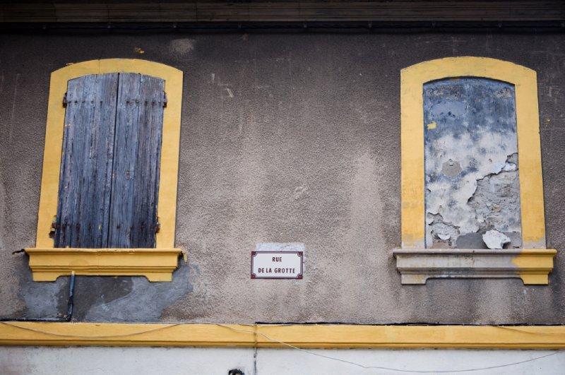 Olds windows at Arles