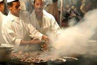 Marrakech food stalls