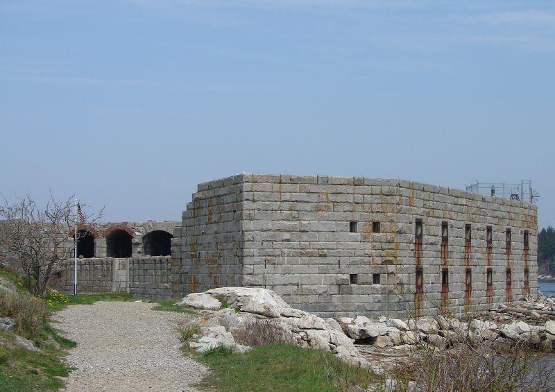 2nd Trip - Fort Popham