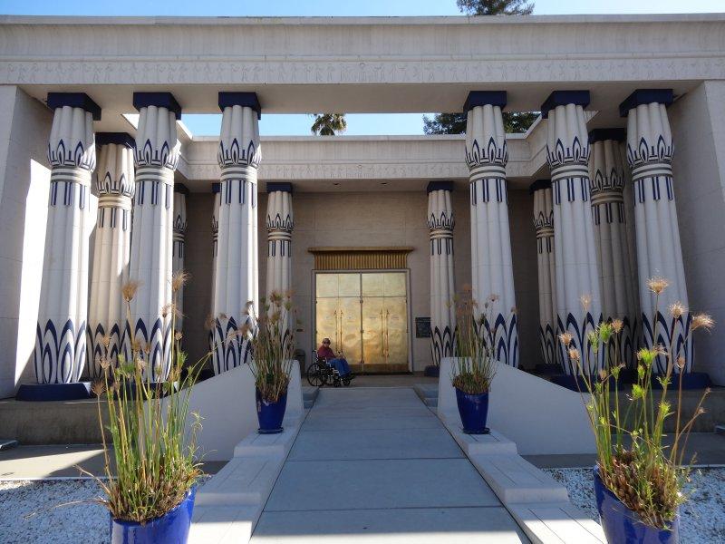 April 19 - Egyptian Museum, Exterior Front Entrance