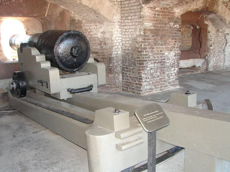 Day_107_-_Fort Sumpter,_Cannon