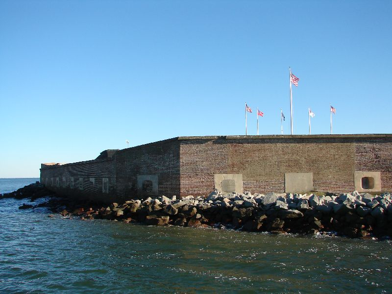 Day_107_-_Fort Sumpter, Walls_Ext