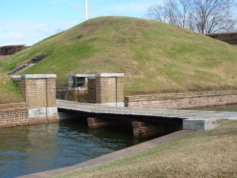 Day_111_-_Fort Pulaski, Draw_Bridge