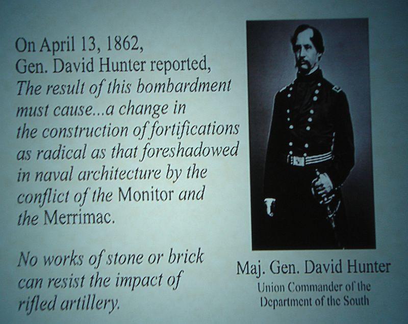 Day_111_-_Fort Pulaski, Gen_Hunter Comments