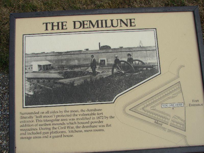 Day_111_-_Fort Pulaski, Demilune Photo