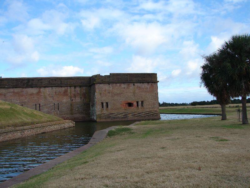 Day_111_-_Fort Pulaski, Wall & Moat