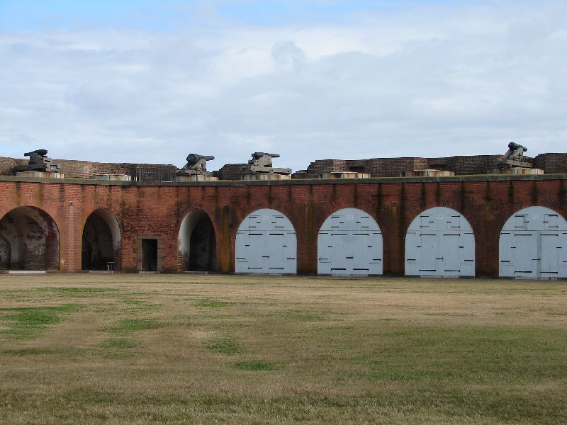 Day_111_-_Fort Pulaski, Interior