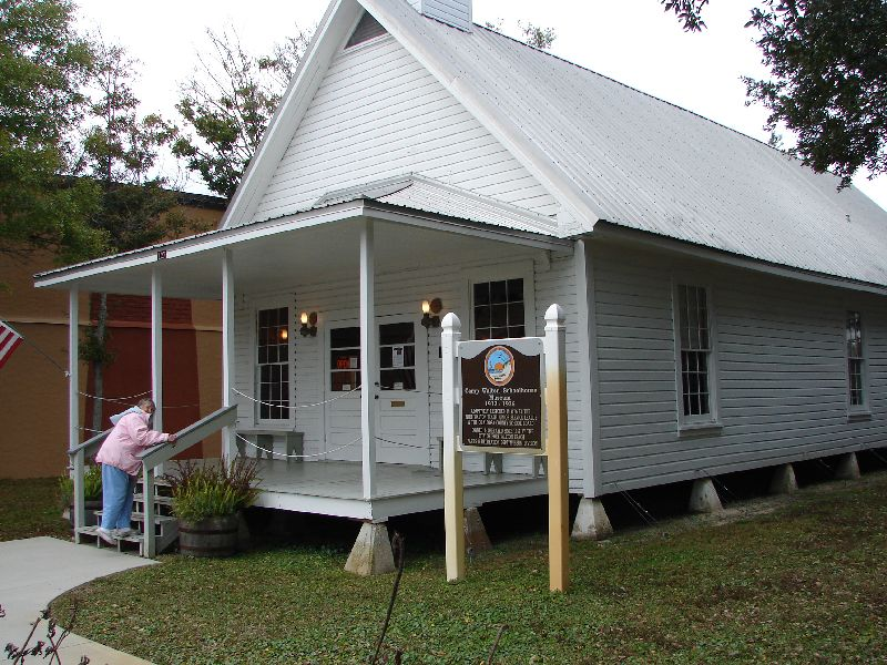 Day 139 - Camp Walton Schoolhouse
