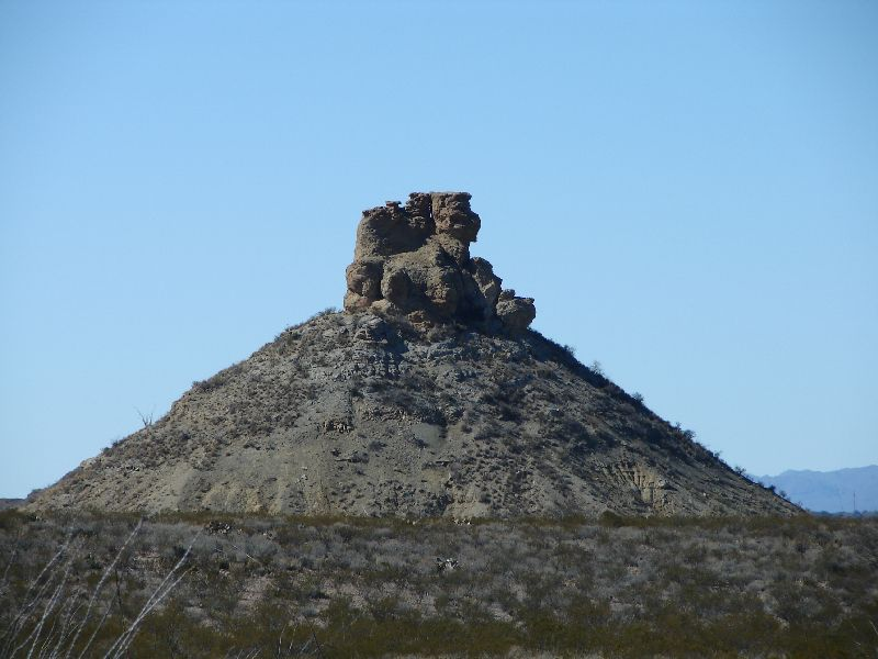 Day 159 - Big Bend, Rock Formation