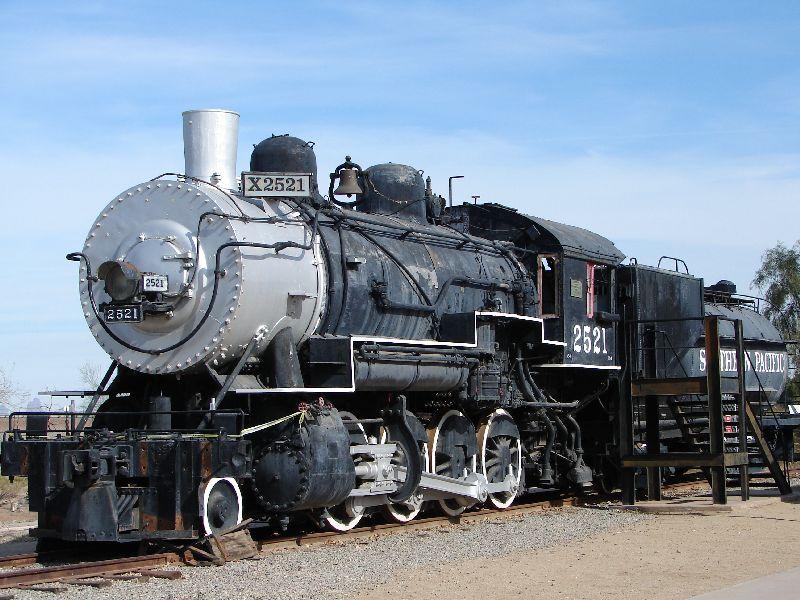 Day 171 - Yuma Qtr Depot, Train Engine