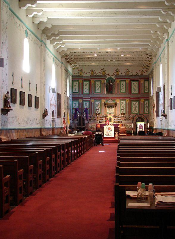 Day 178 - Mission Santa Ines, Church Int