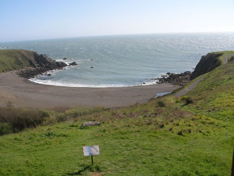 Day 197 - Fort Ross, Sandy Beach Cove