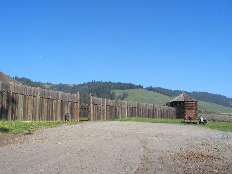 Day 197 - Fort Ross, Outside Gate