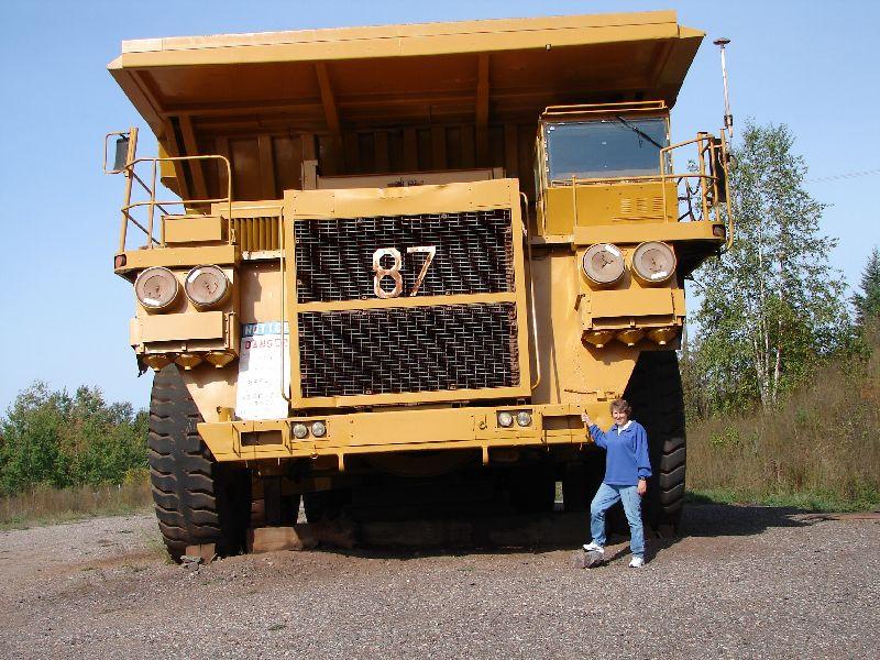 Day 19 - Cliffs Shaft Mine, Ore Truck