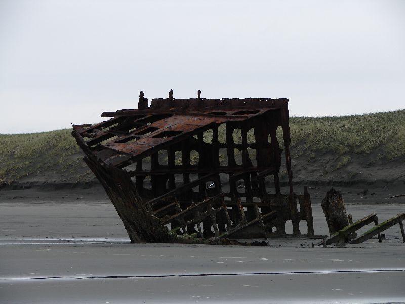 Day 207 - Fort Stevens, Old Shipwreck Closeup