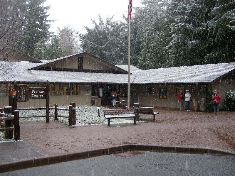 Day 207 - Fort Clatsop, Visitors Center