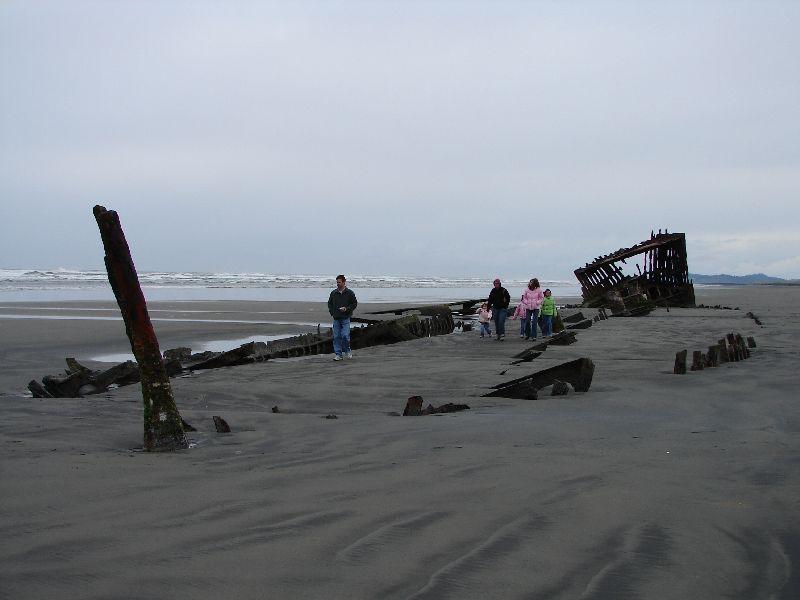 Day 207 - Fort Stevens, Old Shipwreck