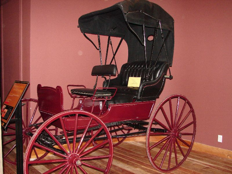Day 208 - Carriage Museum, Jump Seat Top Buggy