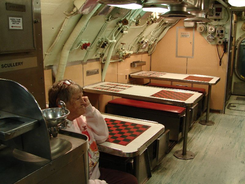 Day 50 - USS Albacore, Mess