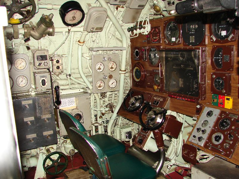 Day 50 - USS Albacore, Control Room