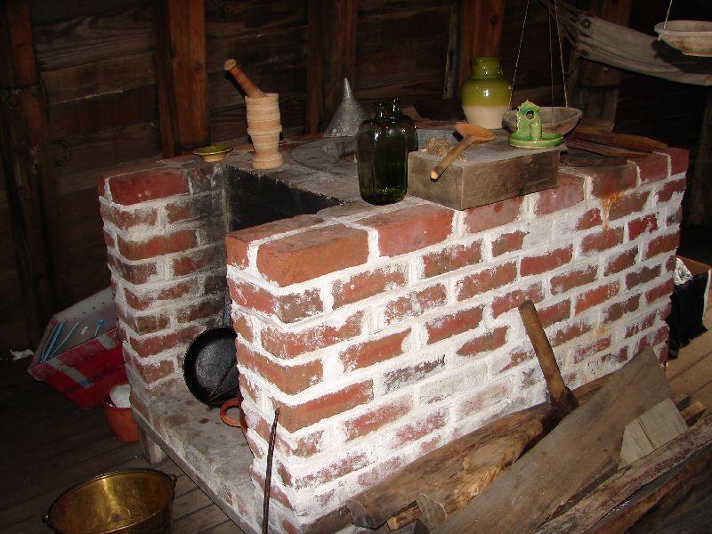Day 54 - Mayflower II, Kitchen