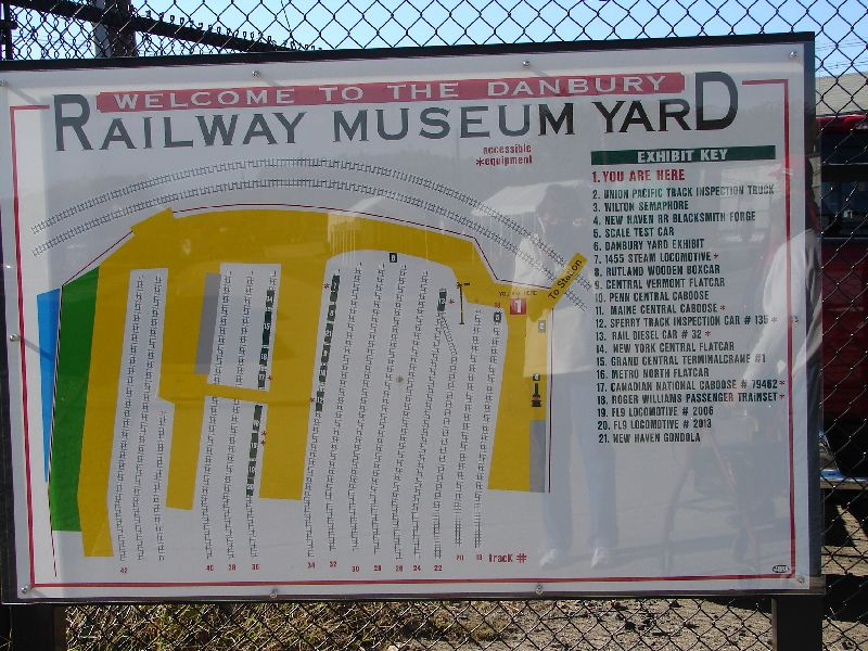 Day 62 - Danbury Railway Museum, Yard Sign