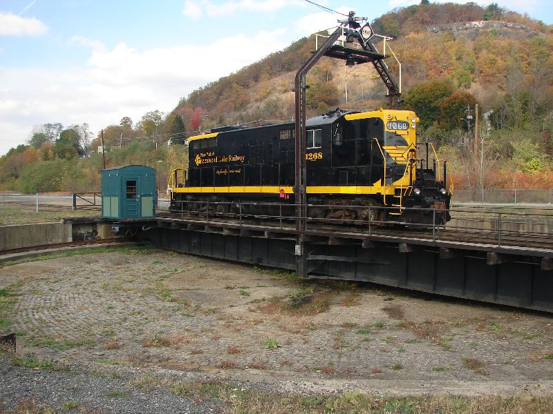 Day 64 - Port Jervis Erie Turntable