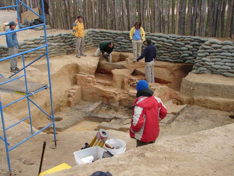 Day 89 - Jamestown, Archeologists
